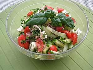 Gewächshaus Gurken Und Tomaten : tomaten gurken salat mit feta von liesbeth ~ Whattoseeinmadrid.com Haus und Dekorationen