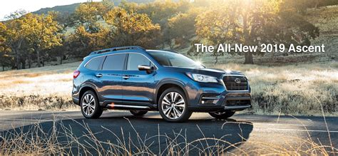 The Allnew 2019 Subaru Ascent  Garavel Subaru