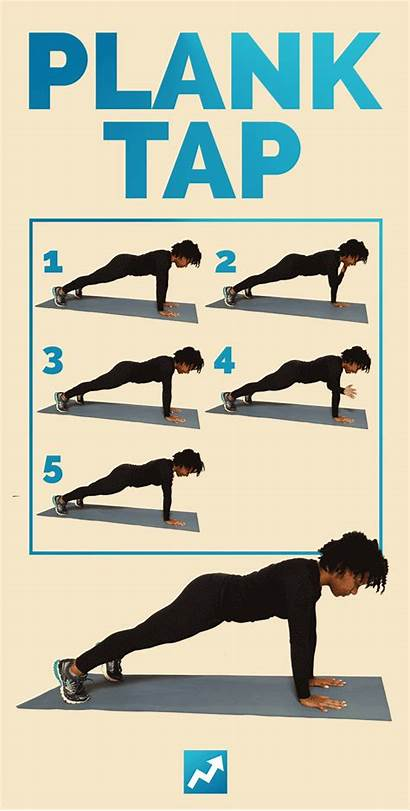 Shape Exercises Exercise Plank Tap Fast Days