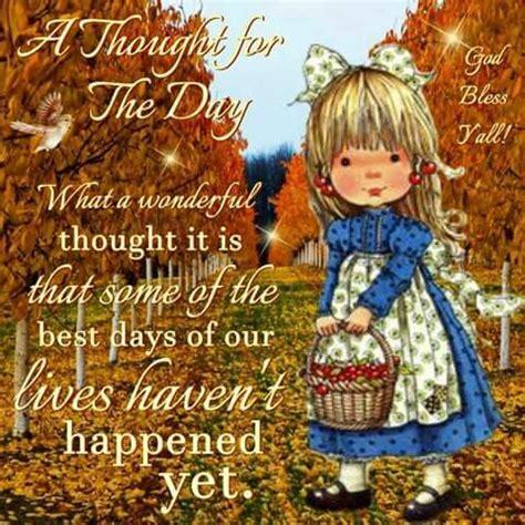 wonderful thought        days