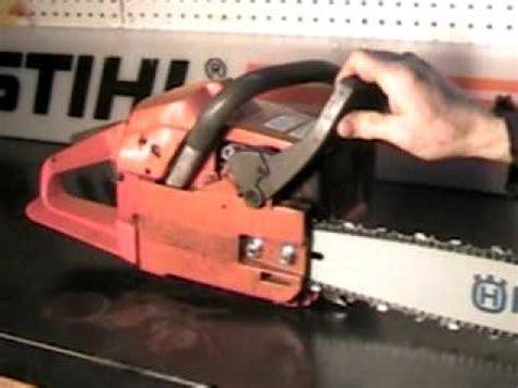 The chainsaw guy shop talk Husqvarna 51 Chainsaw 11 16.AVI