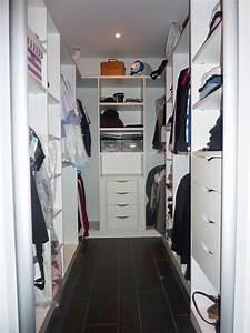 Porte Dressing Sur Mesure : dressing sur mesure en u le kiosque amenagement ~ Edinachiropracticcenter.com Idées de Décoration