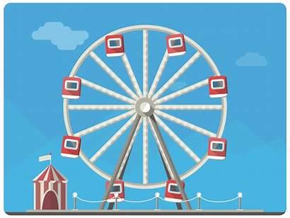Wheel Wonderful Ferris Wilkie Dribbble Spencer