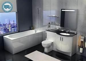 Sparkle Designer Bathroom Suite - Bathrooms at Bathshop321