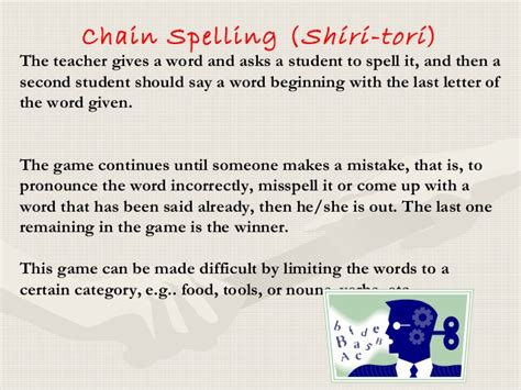 Other words that entered english at around the same time. Make learning a fun the use of games in esl classroom