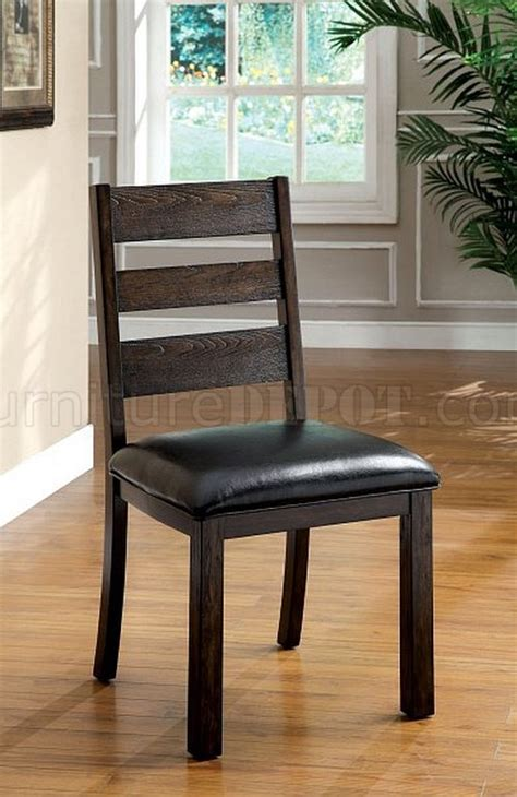 Table Chairs Edmonton by Cm3680t Edmonton Dining Table In Walnut W Optional Chairs