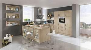 Moderne Küchen U Form : 41 moderne k chen in eiche helles holz liegt im trend ~ Sanjose-hotels-ca.com Haus und Dekorationen
