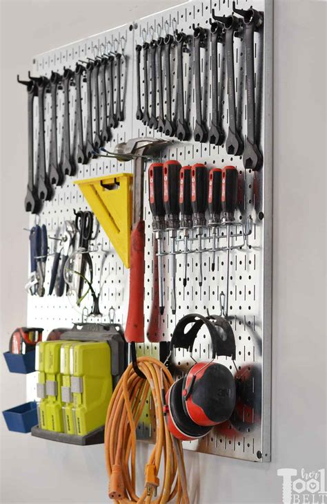 Garage Tools by Garage Tool Organization Ideas Tool Belt