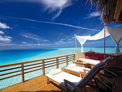 Deck Wallpapers Atoll Male Ocean Patio Views