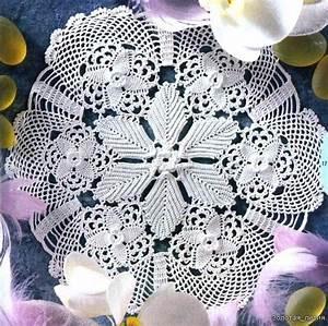 Free Tablecloth Crochet Patterns  U2013 Easy Crochet Patterns