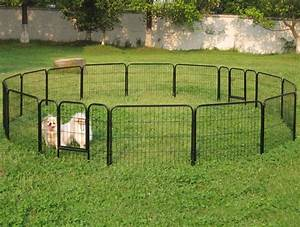 Dog fences outdoor diy to keep your dogs secure roy home for Small dog fences for outside
