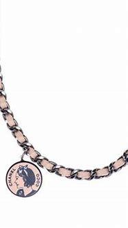 Chanel Skull Crossbones Choker Necklace | Skull jewelry