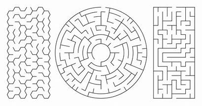 Maze Mazes Printable Labyrinth Coloring Pages Generator