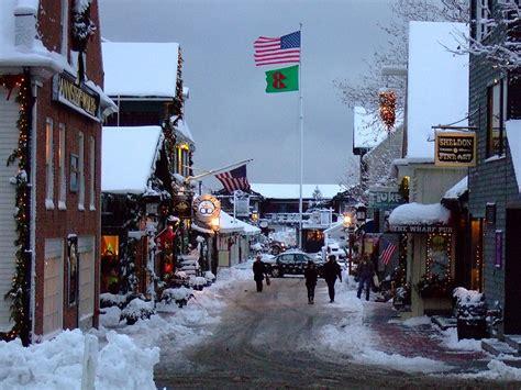 rhode island christmas town road trip