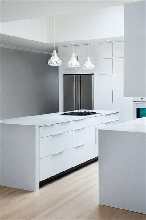 ikea high gloss white kitchen  modernash  nashville