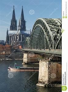Stock Photo Cologne Bridge Image