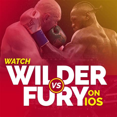 How to Watch Deontay Wilder vs Tyson Fury 2 on iOS