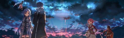 Anime Screen Wallpaper - dual screen kingdom hearts wallpapers 54 images