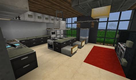 minecraft modern kitchen  craft minecraft modern
