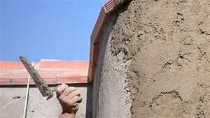 papier peint enduit decoratif et plaquettes de parement With crepir un mur exterieur