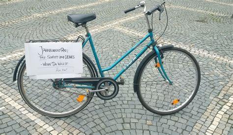 Zu Verschenken by Jahrhundertrad Zu Verschenken Radverkehr In Bayreuth