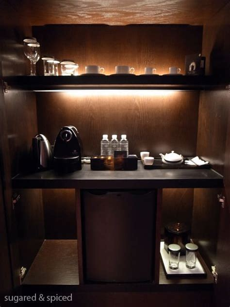 Bar In Hotel Room by Shanghai Puli Hotel Spa Amenities Mini Bar In 2019
