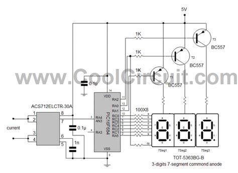 Current Measurement Ammeter Circuit Picf Acs