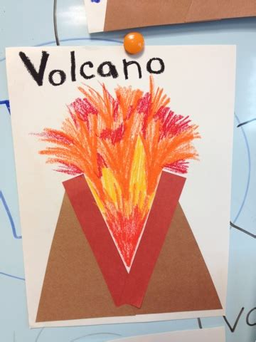 v craft site about children alphabet letter craft v is for volcano color me sweet