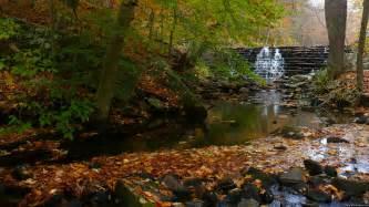 Fall Waterfall Scenery
