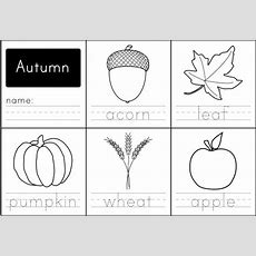 Free Printable Autumn Words  Paging Supermom