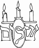 Coloring Hannukah Popular sketch template