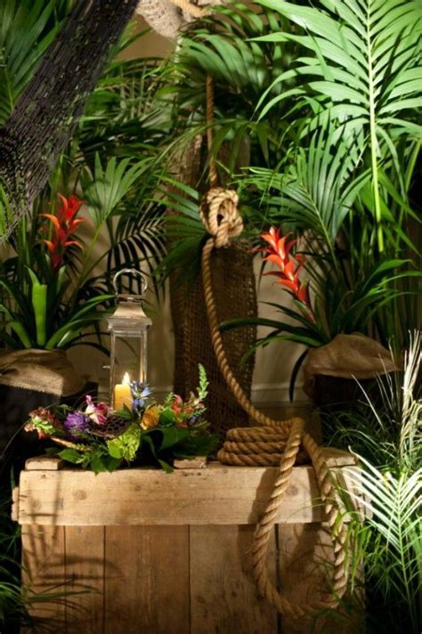 theme jungle safari party decorations events adult corporate birthday parties event themed decoration rainforest zoo table fiesta display african decor