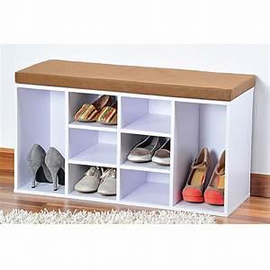 Schuhschrank Für 80 Paar Schuhe : schuhschrank passend f r 8 paar schuhe wei sitzbank bauhaus ~ Indierocktalk.com Haus und Dekorationen