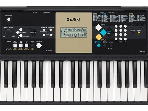 yamaha ypt 220 keyboard yamaha ypt 220
