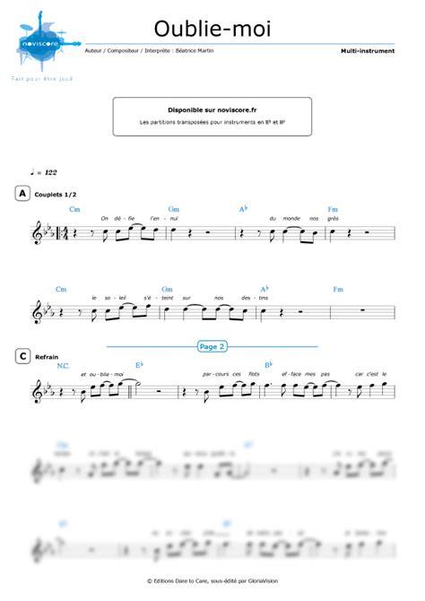 other sheet music oublie moi coeur de pirate easy sheet music noviscore