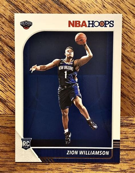 Historic sales data are completed sales with a buyer and a seller agreeing on a price. ZION WILLIAMSON 2019-20 Panini NBA Hoops RC #258 Pelicans Rookie Card 🏀💎🔥 | eBay
