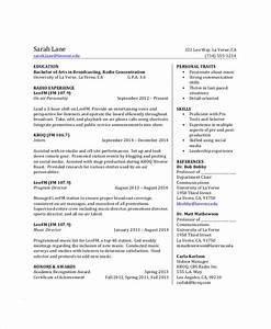 Resume For Undergraduate College Student Free 8 Sample College Student Resume Templates In Pdf