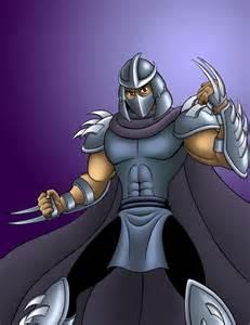 Shredder Teenage Mutant Ninja Turtles Cartoon