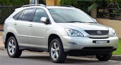 2006 lexus jeep 2006 lexus rx 330 information and photos momentcar