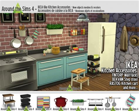 kitchen accessories ikea ikea like kitchen accessories at around the sims 4 187 sims 2127