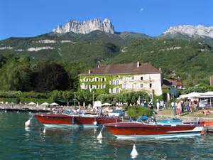Talloires Lake Annecy France