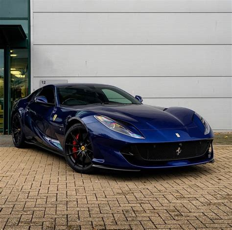 The california t epitomises the sublime elegance, sportiness, versatility and exclusivity that have distinguished every california the 195 s touring berlinetta is a racing sports car, and was introduced in 1950 at the giro di sicilia. Ferrari 812 Superfast painted in Tour De France Blue Photo taken by: @hrowenferrari on Instagram ...