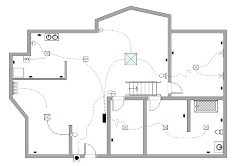 Living Room Electrical Layout by Electrical Plan Free Electrical Plan Templates