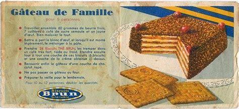 recettes de cuisine anciennes une pincée d 39 épicurisme quot gâteau de famille quot thé brun