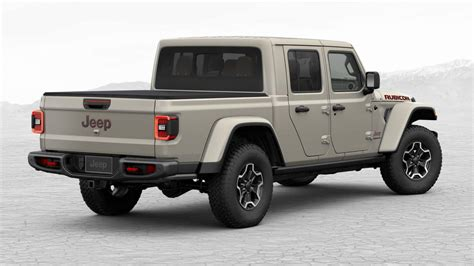 heres   fully loaded  jeep gladiator rubicon   carscoops