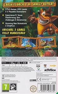 Crash Bandicoot N Sane Trilogy 2018 Nintendo Switch