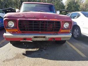 1978 Ford F100 Long Bed 2wd For Sale