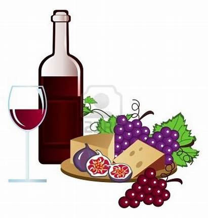 Wine Clipart Grapes Grape Cheese Clipartmag