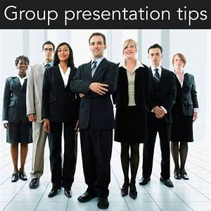 Tips for handling Group Presentations
