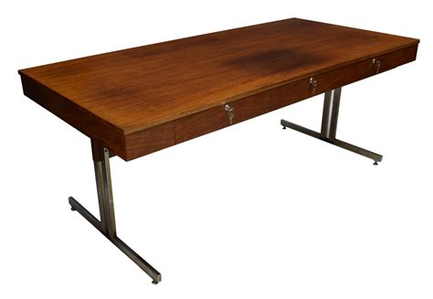 mid century writing desk french mid century modern rosewood writing desk luxury